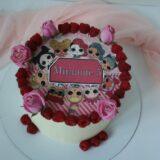 Сахарная картинка на торт